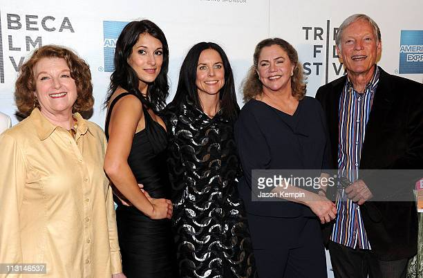 Rebecca Wackler Angelique Cabral Anne Renton Kathleen Turner and Richard Chamberlain attend the premiere of 'The Perfect Family' at the 2011 Tribeca...
