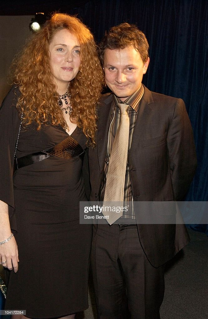 Rebecca Wade And Jonathan Yeo, 'Master And Commander: The Far Side Of The World' Royal Premiere After Party At Billingsgate Fish Market, London