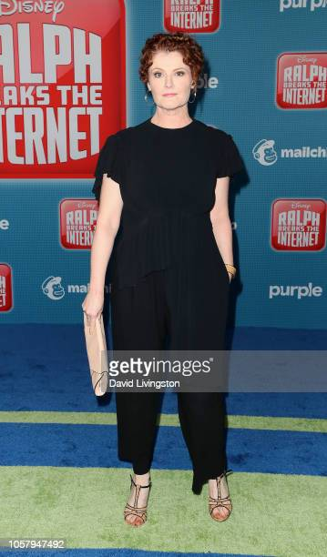 """Rebecca Wisocky attends the premiere of Disney's """"Ralph Breaks the Internet"""" on November 5, 2018 in Los Angeles, California."""