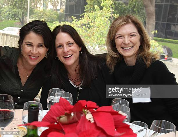 Rebecca Yeldham Cathy Schulman and Dawn Hudson at Film Independent's 2010 Women's Luncheon held at Michael's Restaurant on December 15 2010 in Santa...