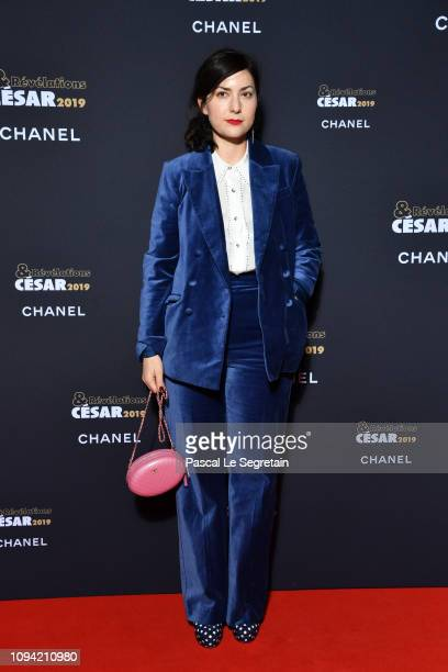 Rebecca Zlotowski attends the 'Cesar Revelations 2019' at Le Petit Palais on January 14 2019 in Paris France