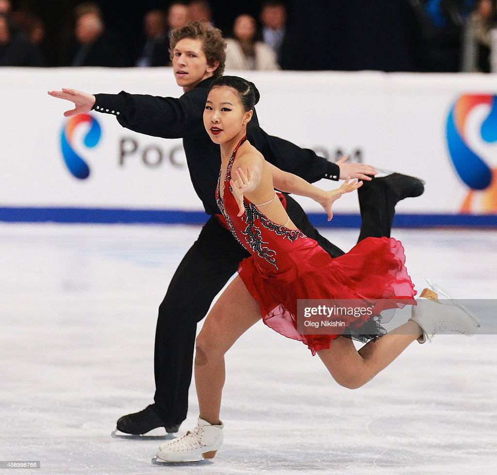 Rostelecom Cup ISU Grand Prix of Figure Skating 2014 - Day One : News Photo