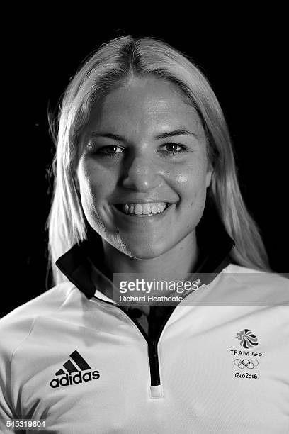 Rebeka Simon poses for a portrait during the Team GB Kitting Out ahead of Rio 2016 Olympic Games on July 7 2016 in Birmingham England
