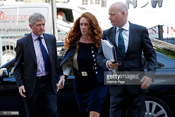 Rebekah Brooks arrives at Westminster Magistrates Court on September 3, 2012 in London, England. Mrs Brooks, the former News International Chief...