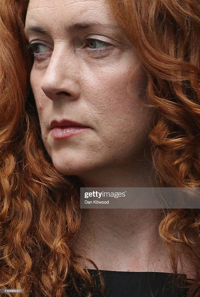 Former News International Chief Executive Rebekah Brooks Appears At Court Charged With Conspiracy To Pervert The Course Of Justice : News Photo