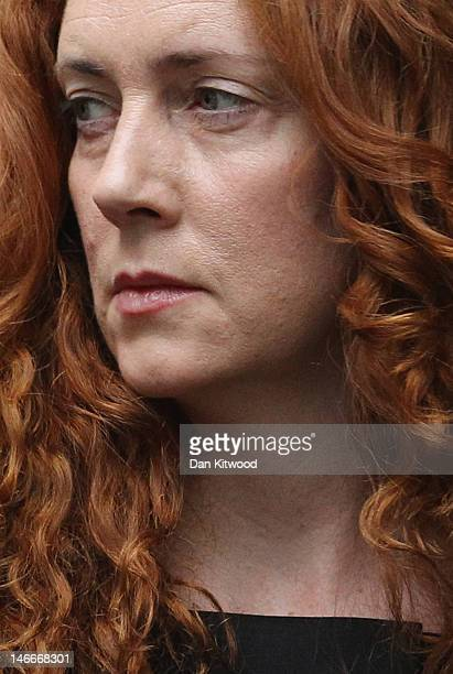 Rebekah Brooks former Chief Executive of News International arrives at Southwark Crown Court in London on June 22 2012 Mrs Brooks the former News...