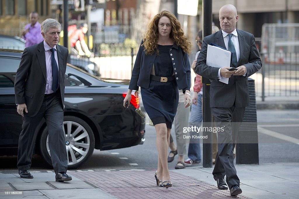 Rebekah Brooks Appears At Westminster Magistrates Court