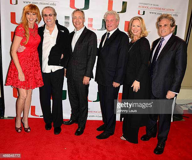 Rebekah Chaney Danny Aiello Gregory J Shepherd Tom Berenger Laura Moretti and John Herzfeld attend the premiere screening Of Reach Me Hosted by...