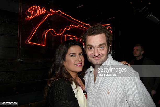 Rebekah Del Rio and Josh Eisenstadt attend Showtime's 'Twin Peaks' Roadhouse Pop Up and Red Room Gift Shop on December 8 2017 in Los Angeles...
