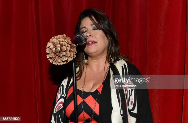 Rebekah Del Rio attends Showtime's 'Twin Peaks' Roadhouse Pop Up and Red Room Gift Shop on December 8 2017 in Los Angeles California
