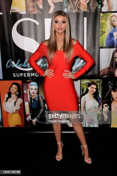 Rebekah Knowles attends SU Magazine's 21st Anniversary Celebration at Avalon Hollywood & Bardot on October 09, 2021 in Los Angeles, California.