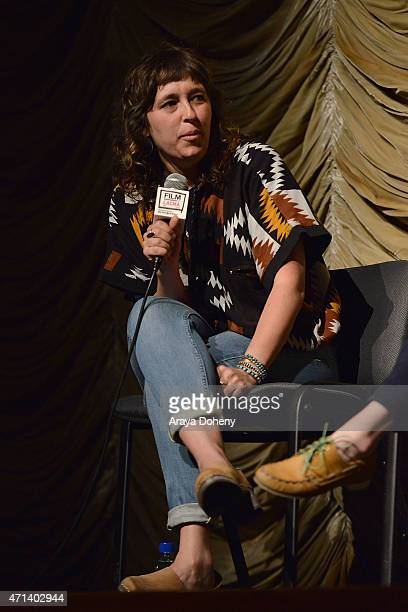 Rebekah Maysles attends the Film Independent at LACMA Screening and QA of Iris at Bing Theatre At LACMA on April 27 2015 in Los Angeles California