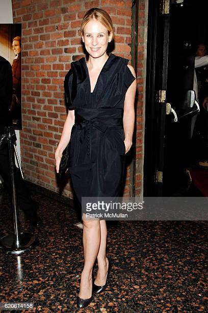 Rebekah McCabe attends THE CINEMA SOCIETY with CHANEL BEAUTE VOGUE host a screening of THE DUCHESS at The Public Theater on September 10 2008 in New...