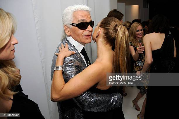 Rebekah McCabe Karl Lagerfeld and Fergie attend THE COSTUME INSTITUTE GALA SUPERHEROES with honorary chair GIORGIO ARMANI at The Metropolitan Museum...