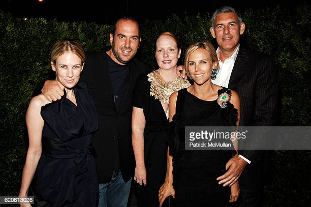Rebekah McCabe Mario Grauso Anne Grauso Tory Burch and Lyor Cohen attend THE CINEMA SOCIETY with CHANEL BEAUTE VOGUE host the after party for THE...