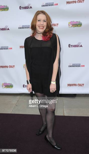 Rebekah McKendry arrives for the 2018 Etheria Film Night held at the Egyptian Theatre on June 16 2018 in Hollywood California