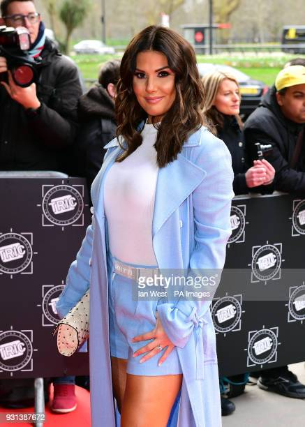 Rebekah Vardy attending the 2018 TRIC Awards at the Grosvenor House Hotel London