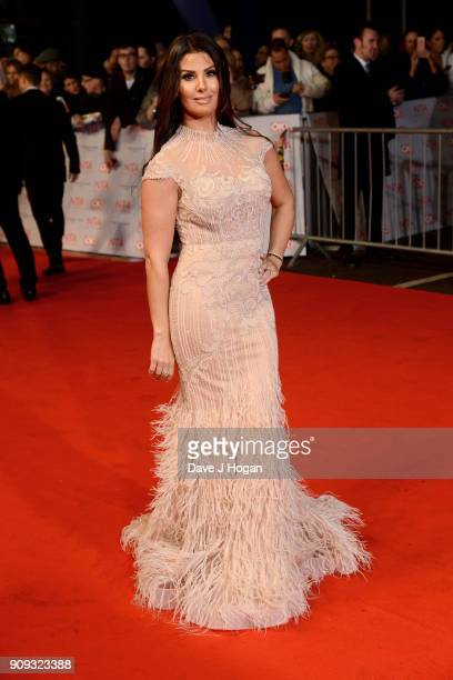 Rebekah Vardy attends the National Television Awards 2018 at The O2 Arena on January 23 2018 in London England