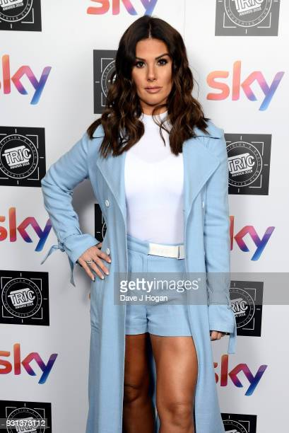 Rebekah Vardy attends the TRIC Awards 2018 held at The Grosvenor House Hotel on March 13 2018 in London England