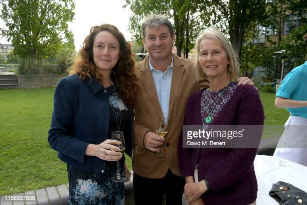 Rebekah Wade Charlie Brooks and Philippa Walker attend The Sunday Times AA Gill Award for emerging food critics at The River Cafe on June 16 2019 in...