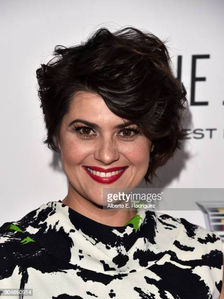 Rebekka Johnson attends Los Angeles Confidential Celebrates Awards Issue hosted by cover stars Alison Brie Milo Ventimiglia and Ana De Armas at The...