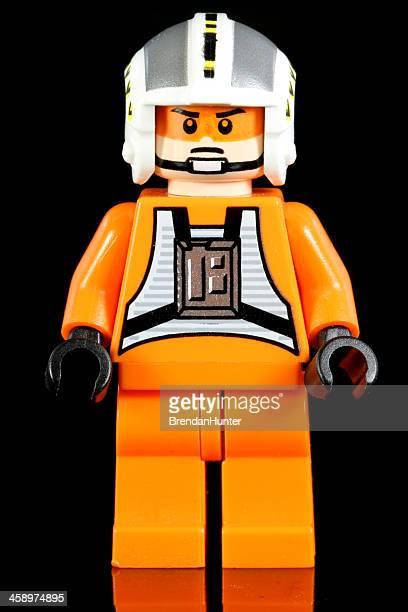 aviateur rebel - lego star wars photos et images de collection