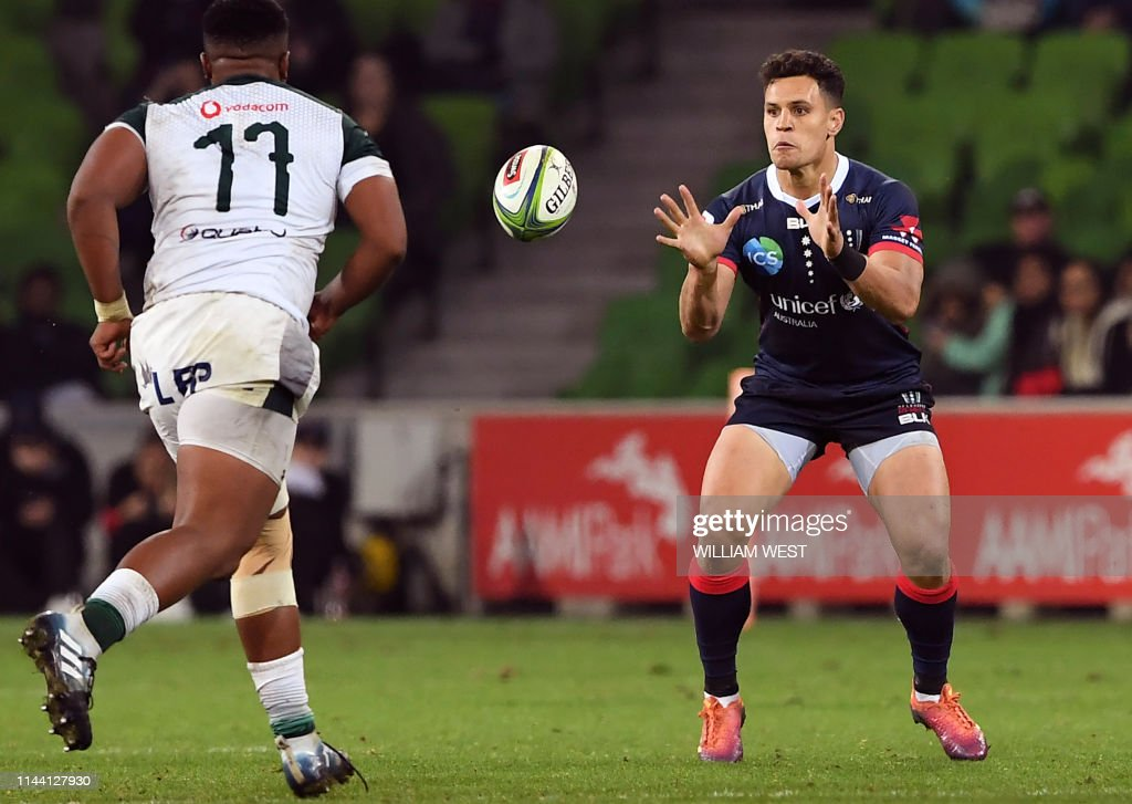 RUGBYU-SUPER-REBELS-BULLS : News Photo