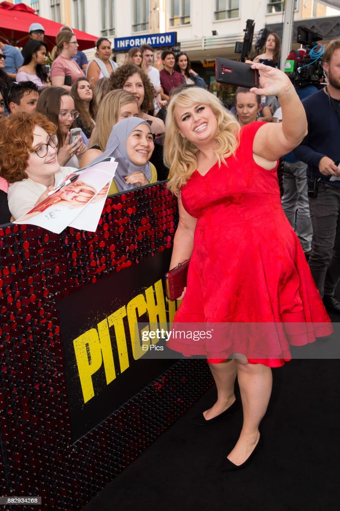 Rebel WIlson arrives ahead of the Australian Premiere of Pitch Perfect 3 on November 29, 2017 in Sydney, Australia.