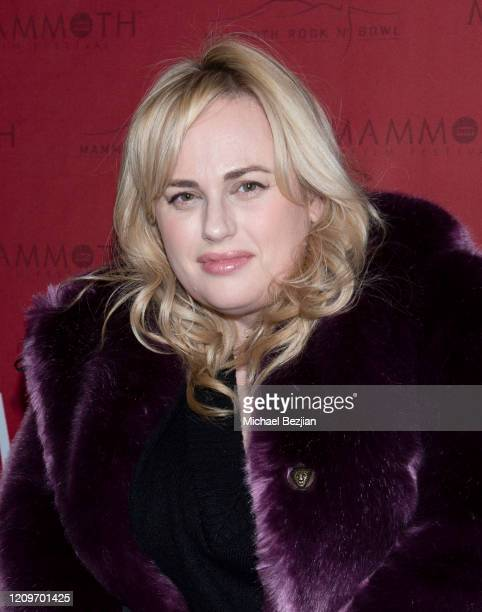 Rebel Wilson arrives at 3rd Annual Mammoth Film Festival Red Carpet - Saturday on February 29, 2020 in Mammoth Lakes, California.