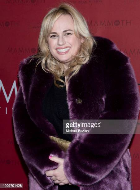 Rebel Wilson arrives at 3rd Annual Mammoth Film Festival Red Carpet Saturday on February 29 2020 in Mammoth Lakes California