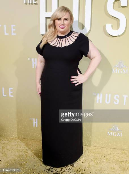 Rebel Wilson arrives at the Premiere Of MGM's The Hustle at ArcLight Cinerama Dome on May 8 2019 in Hollywood California