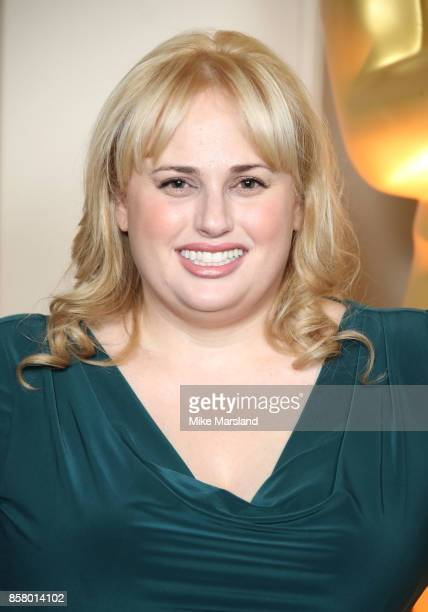 Rebel Wilson at the Academy of Motion Picture Arts and Sciences New Members Partyat Spencer House on October 5 2017 in London England
