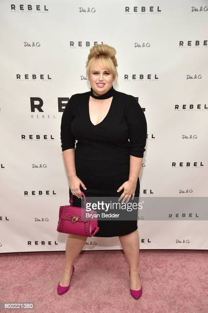 Rebel Wilson at the REBEL WILSON X ANGELS Collection Launch Party at DiaCo on June 27 2017 in New York City