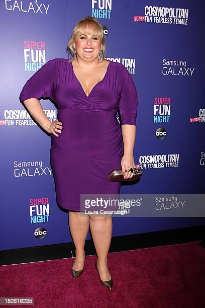 Rebel Wilson attends Cosmopolitan's Super Fun Night at Hearst Tower on October 1, 2013 in New York City.
