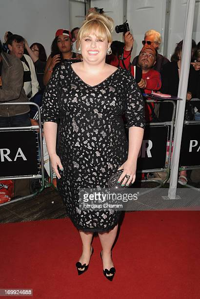 Rebel Wilson attends Glamour Women of the Year Awards 2013 at Berkeley Square Gardens on June 4 2013 in London England