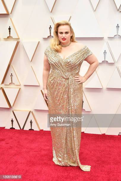 Rebel Wilson attends the 92nd Annual Academy Awards at Hollywood and Highland on February 09 2020 in Hollywood California