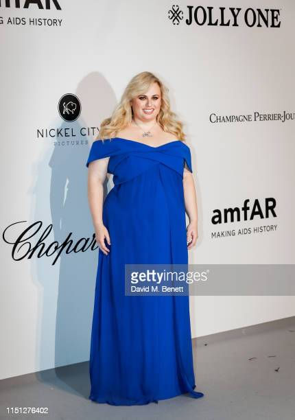 Rebel Wilson attends the amfAR Cannes Gala 2019 at the Hotel du CapEdenRoc on May 23 2019 in Cap d'Antibes France