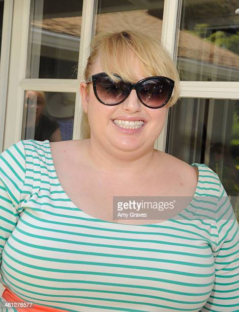 Rebel Wilson attends the annual Jen Klein Day of Indulgence Summer Party August 11 2013 in Los Angeles California