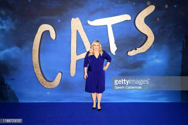 Rebel Wilson attends the Cats photocall at The Corinthia Hotel on December 13 2019 in London England