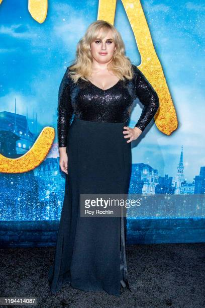 """Rebel Wilson attends the """"Cats"""" World Premiere at Alice Tully Hall, Lincoln Center on December 16, 2019 in New York City."""