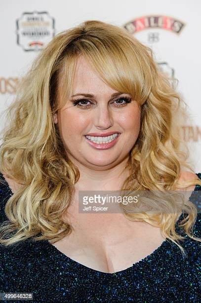 Rebel Wilson attends the Cosmopolitan Ultimate Women of the Year Awards at One Mayfair on December 2 2015 in London England