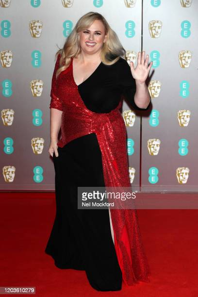 Rebel Wilson attends the EE British Academy Film Awards 2020 at Royal Albert Hall on February 02 2020 in London England