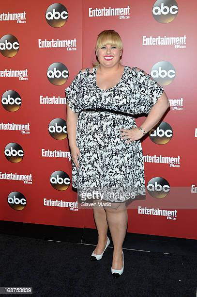 Rebel Wilson attends the Entertainment Weekly ABCTV Upfronts Party at The General on May 14 2013 in New York City