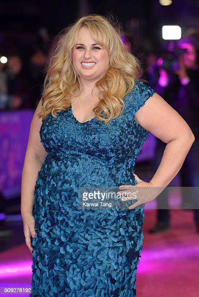 Rebel wilson imagens e fotografias getty images rebel wilson attends the european premiere of how to be single at the vue ccuart Choice Image