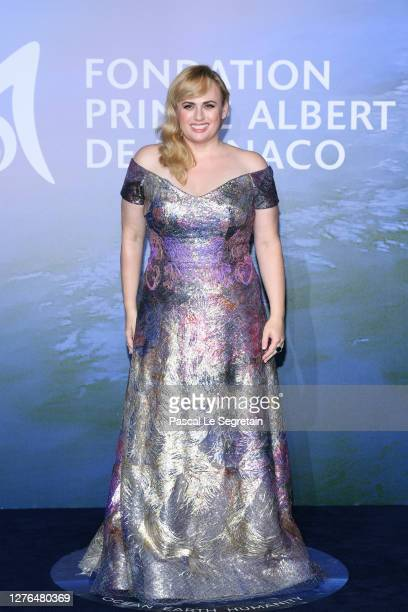 Rebel Wilson attends the MonteCarlo Gala For Planetary Health on September 24 2020 in MonteCarlo Monaco