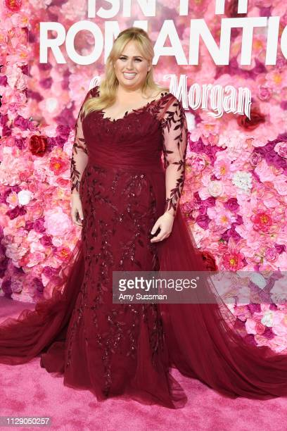 Rebel Wilson attends the premiere of Isn't It Romantic at The Theatre at Ace Hotel on February 11 2019 in Los Angeles California