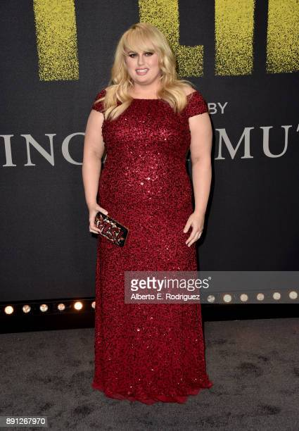 Rebel Wilson attends the premiere of Universal Pictures' 'Pitch Perfect 3' at Dolby Theatre on December 12 2017 in Hollywood California