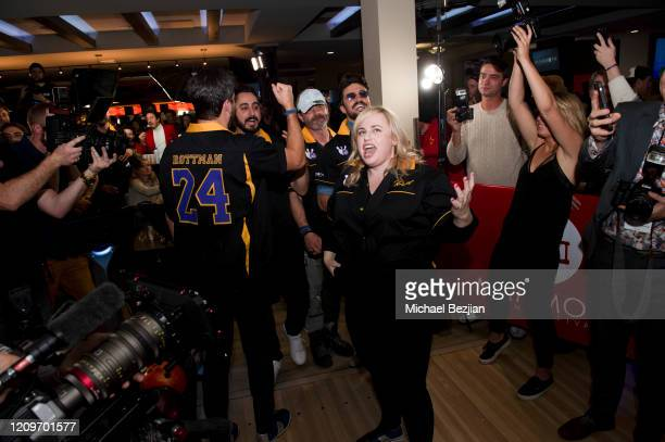 Rebel Wilson bowling at 3rd Annual Mammoth Film Festival Red Carpet Saturday on February 29 2020 in Mammoth Lakes California