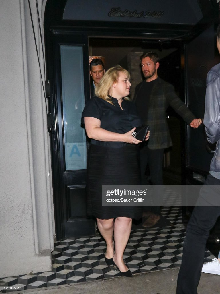 Rebel Wilson is seen on March 11, 2018 in Los Angeles, California.
