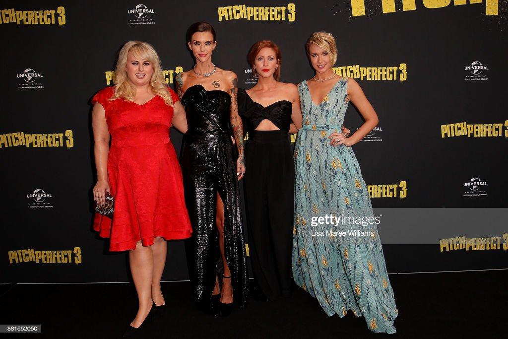 Pitch Perfect 3 Australian Premiere - Arrivals